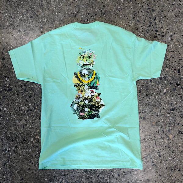 Botanical Snackman Tee-Mint