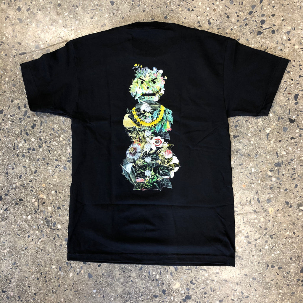 Botanical Snackman Tee-Black