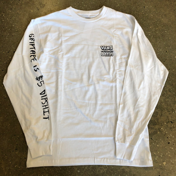 Lotties x Vans Long Sleeve Tee-White