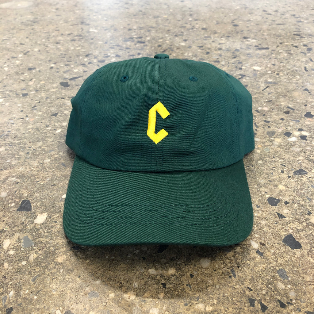 C-Logo Dad Hat-Spruce