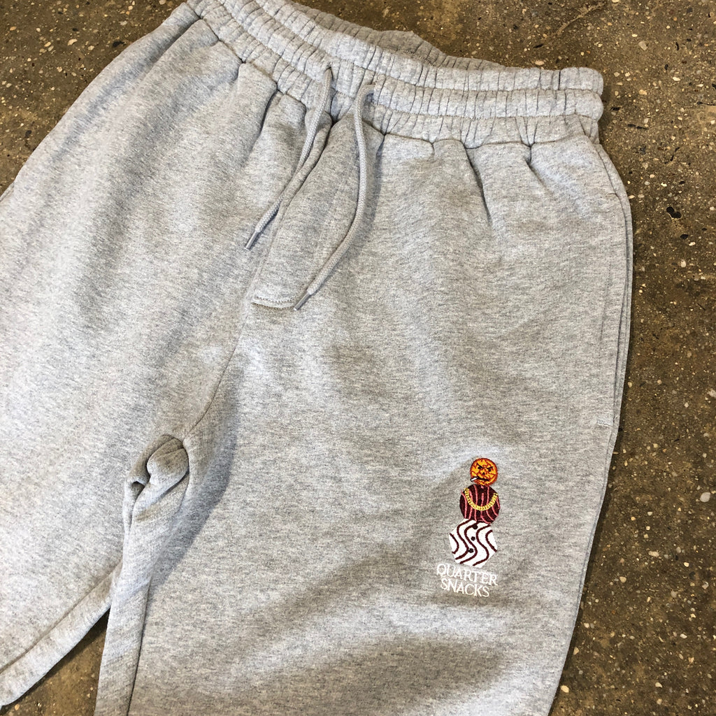 Snackman Sweatpants-Heather