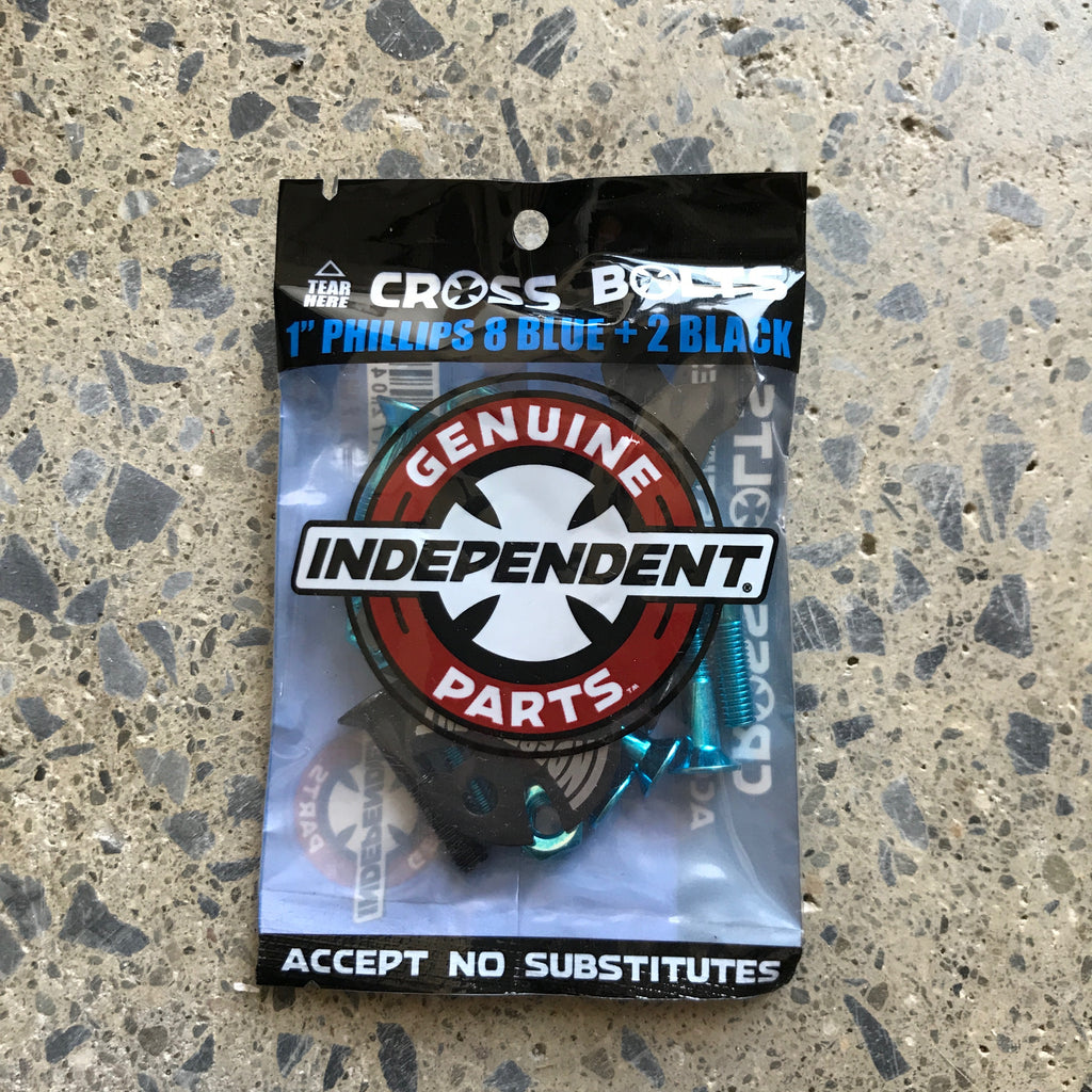 Independent Hardware-Blue 1in Phillips