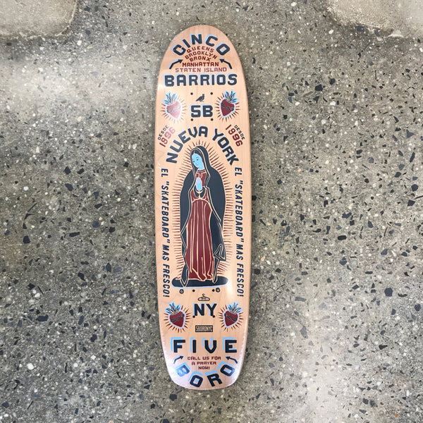 5B Cinco Barrios Cruiser Deck Small