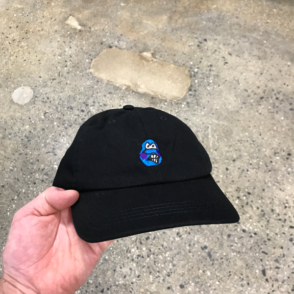 Dane Face Cap-Black