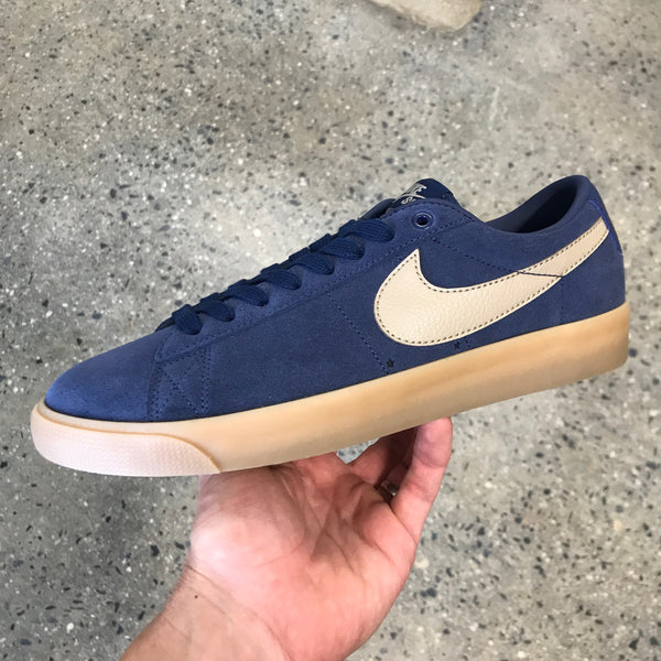 Blazer Low GT-Midnight Navy/Khaki
