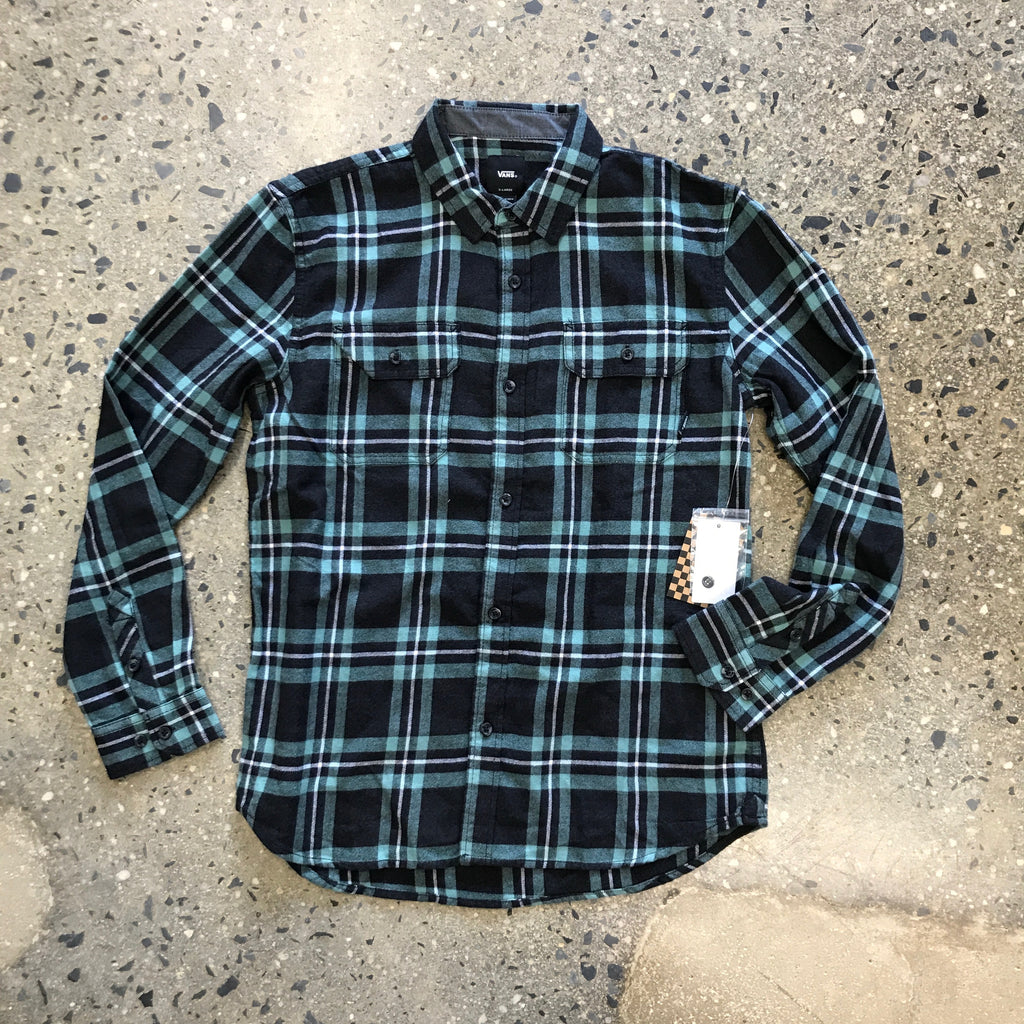 Westminster Flannel Shirt-Black