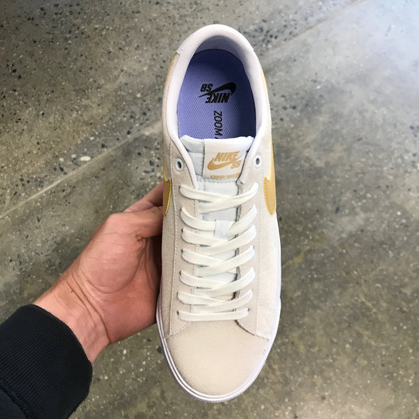 Blazer Low GT-White/Club Gold-White