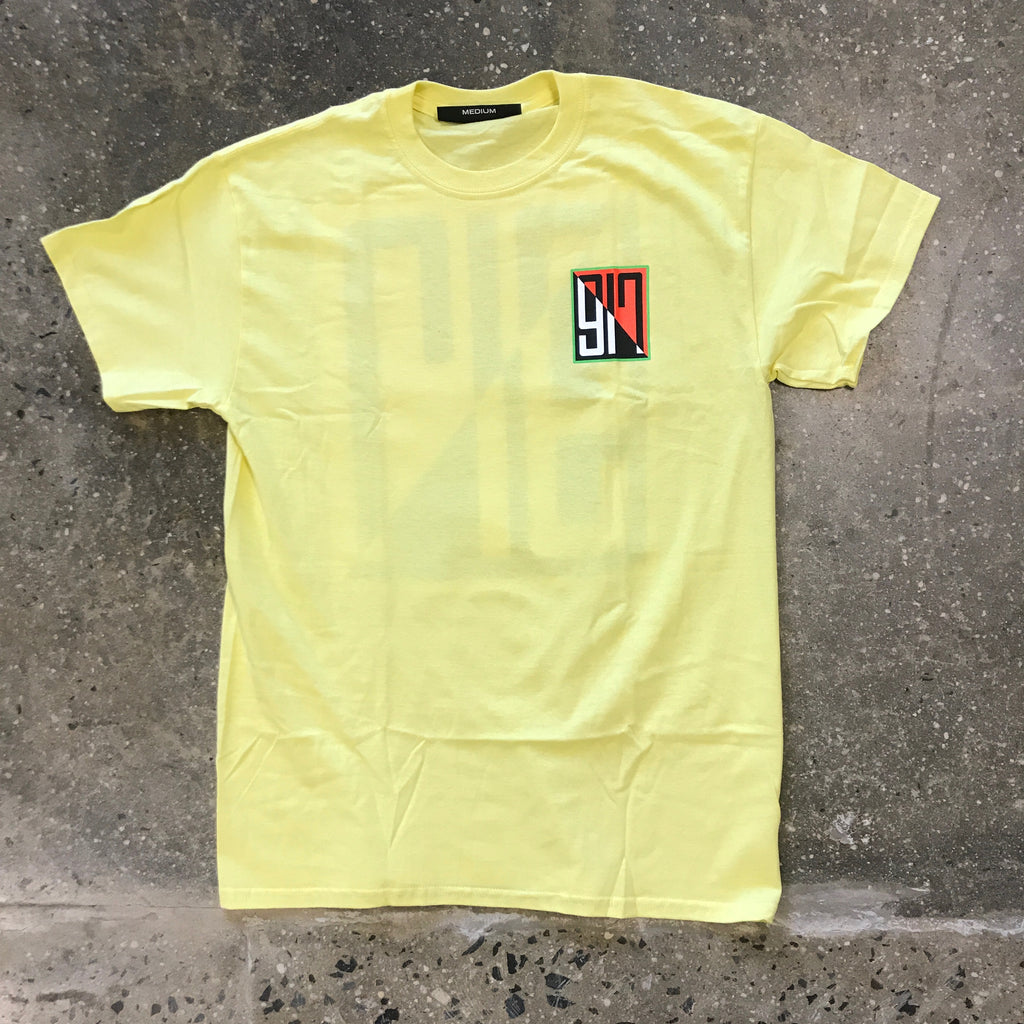 917 Split Tee-Yellow