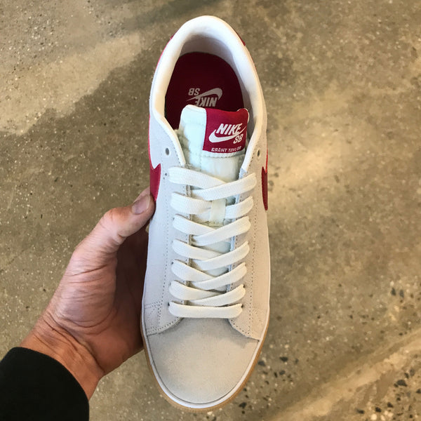 Blazer Low GT-Sail/Cardinal Red-White