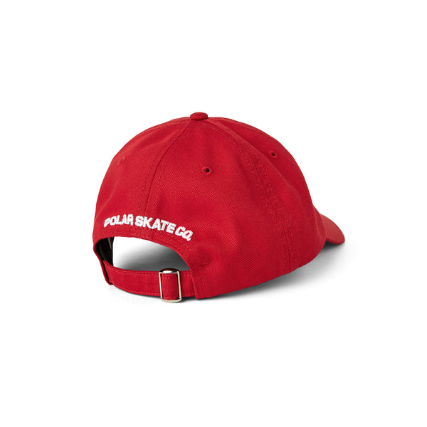 Stroke Logo Cap-Red