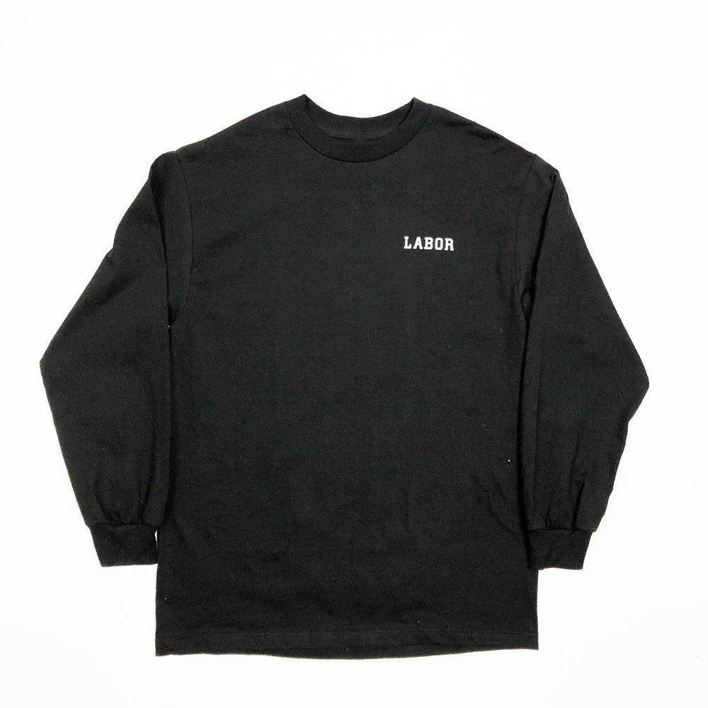 Bolt Cutter L/S Tee-Black