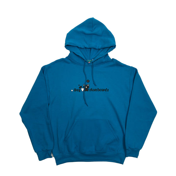Frog Skateboards Hoody-Carolina Blue