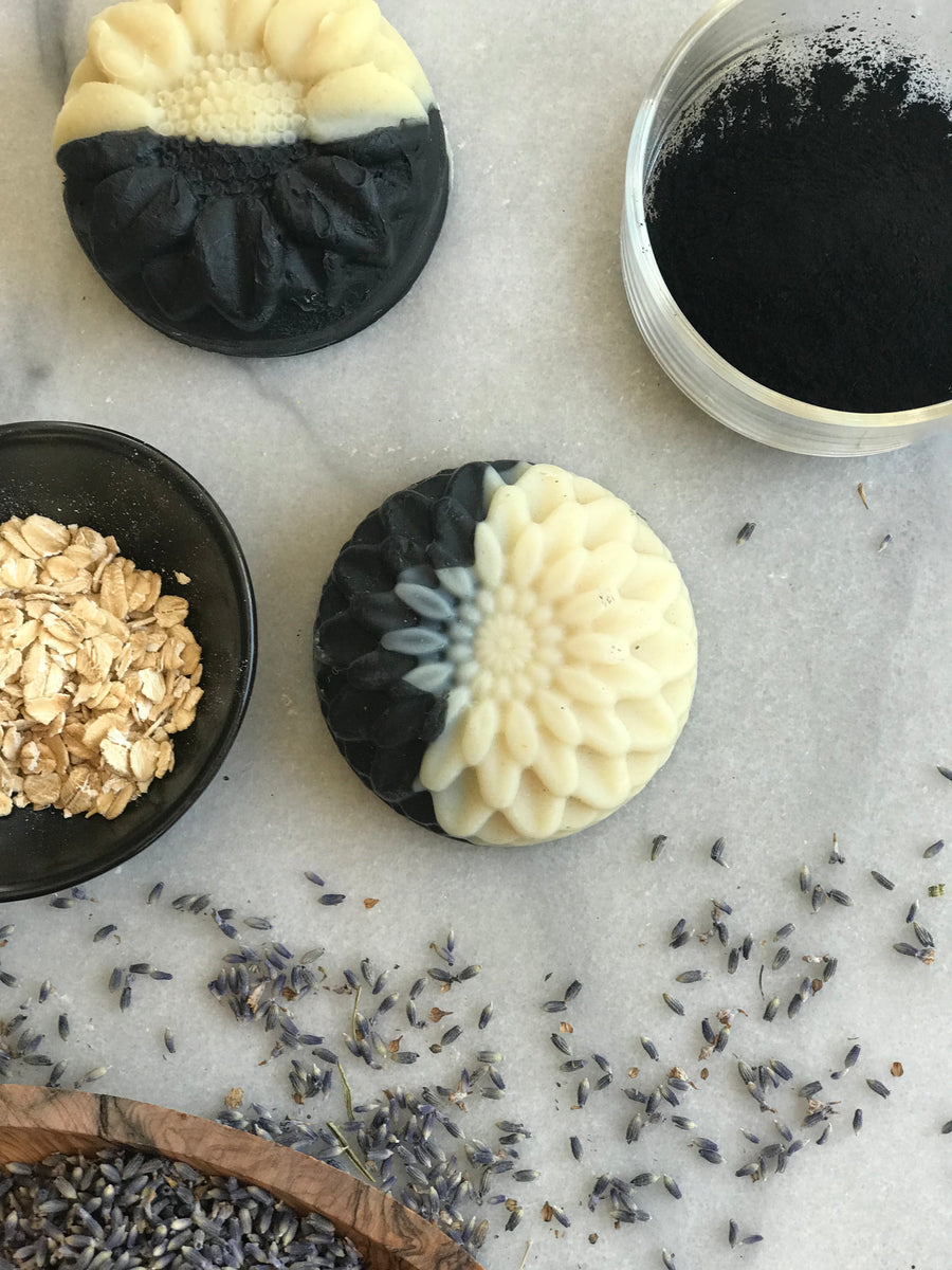 Balance Bar with charcoal, lavender, & oats