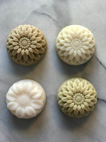 Set of 4 shampoo bars or soaps