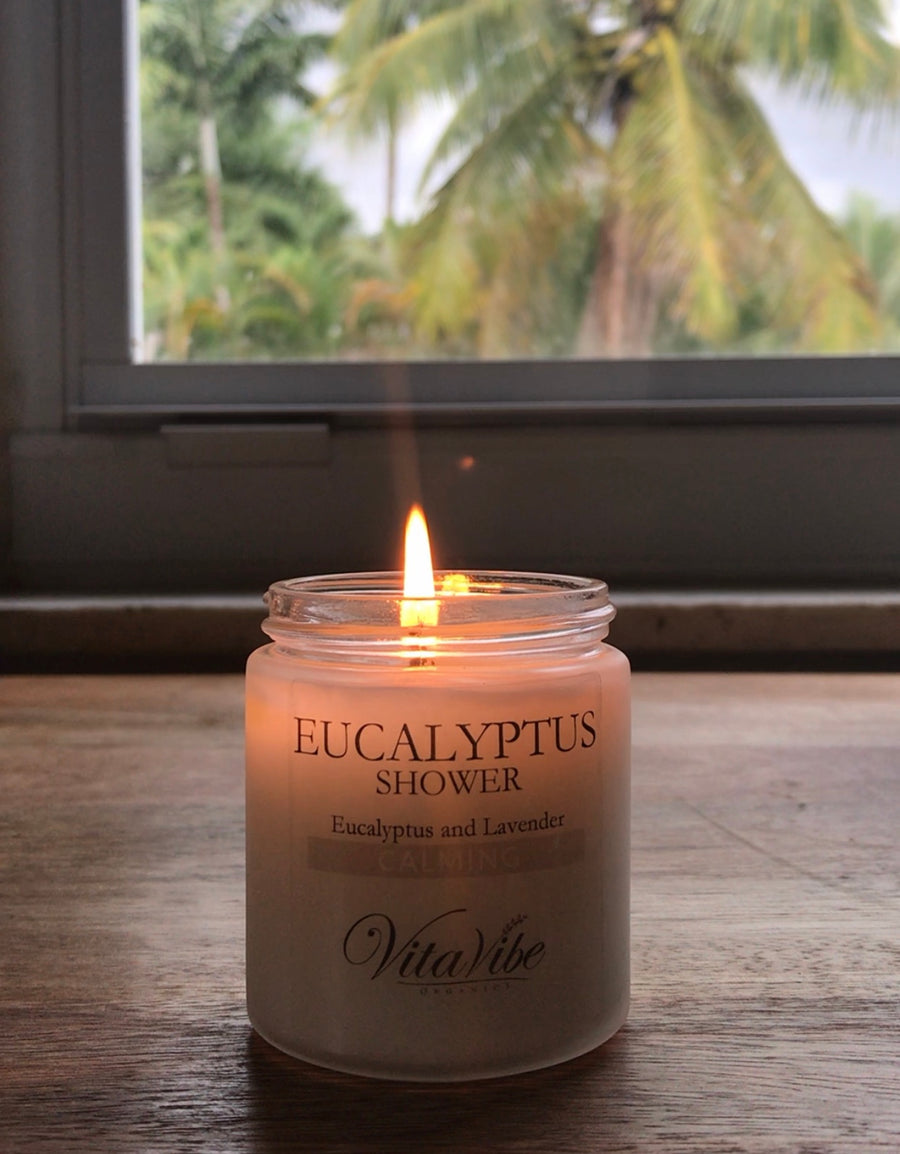 Eucalyptus Shower Candle