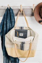 Load image into Gallery viewer, Stripe Grain Sack Tote (Sold Out)