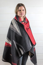 Load image into Gallery viewer, Wool Blanket Poncho