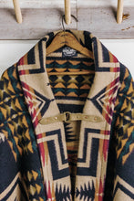 Load image into Gallery viewer, Wool Aztec Poncho