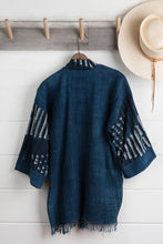 Load image into Gallery viewer, Indigo Shibori Jacket