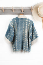 Load image into Gallery viewer, Indigo Shibori Jacket (Sold Out)