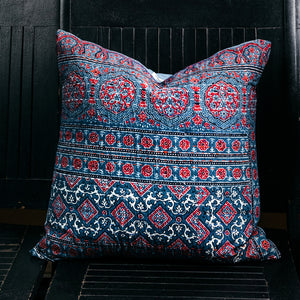 Kantha Quilt Pillow