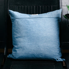 Load image into Gallery viewer, Indigo Batik Pillow Cover