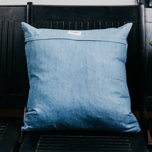Load image into Gallery viewer, Indigo Shibori Pillow (Sold Out)