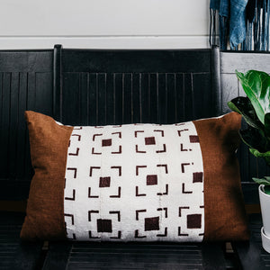 Mud Cloth Lounge Pillow