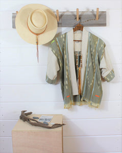 Natural Ikat Haori Jacket
