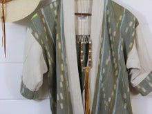 Load image into Gallery viewer, Natural Ikat Haori Jacket