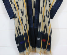 Load image into Gallery viewer, Indigo Ikat Desert Vest