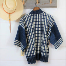 Load image into Gallery viewer, Indigo Ikat Jacket