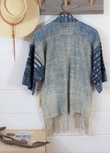Load image into Gallery viewer, Indigo Ombre Haori Jacket