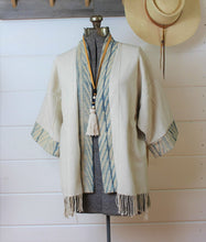 Load image into Gallery viewer, Natural + Shibori Haori Jacket