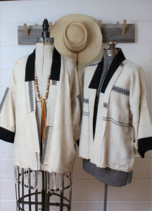 Natural Fulani Haori Jacket