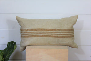 European Grain Sack Pillow