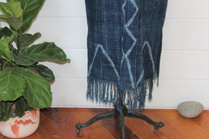 Indigo Shibori Duster Dress