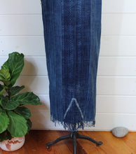 Load image into Gallery viewer, Indigo Shibori Duster Dress
