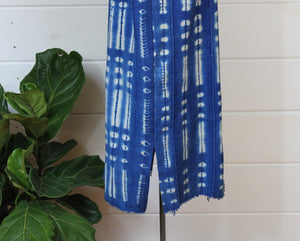 Indigo Shibori Dress