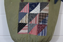 Load image into Gallery viewer, Military Quilt Patch Tote