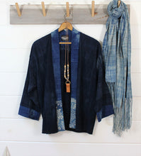Load image into Gallery viewer, Indigo Chinese Batik Jacket
