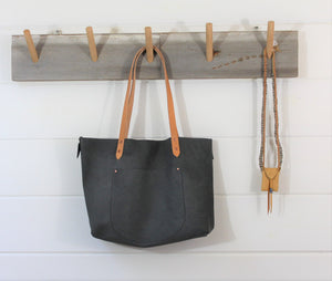 Nubuck Leather Tote