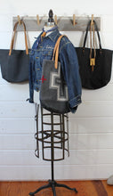 Load image into Gallery viewer, Wool Blanket + Leather Tote