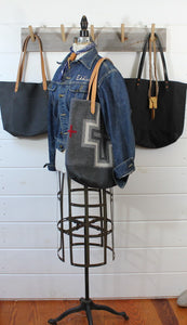 Wool Blanket + Leather Tote
