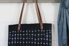 Load image into Gallery viewer, Indigo Shibori Tote