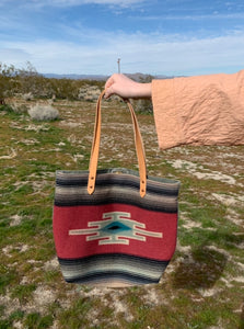 Chimayo Wool Blanket Bag