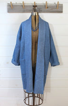 Load image into Gallery viewer, Chambray Quilt Duster