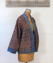 Load image into Gallery viewer, Kantha Quilt Jacket