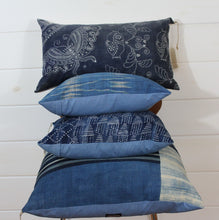 Load image into Gallery viewer, Indigo Patchwork Jumbo Lounge Pillow