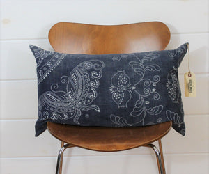 Indigo Batik Lounge Pillow
